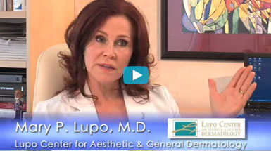 Dr. Mary Lupo discusses the benefits of Chemical Peels