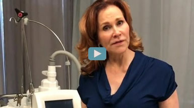Coolsculpting to reduce back fat as described by Dr. Mary Lupo.