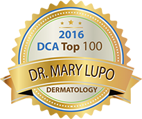 Doctors Choice Awards Top 100 badge to Dr. Lupo