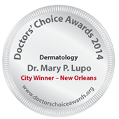 Dermatologist New Orleans - Dr Mary Lupo City Winner Award