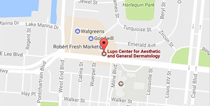 Google Map - Lupo Center for Aesthetic and General Dermatology