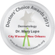 Dr. Mary Lupo DCA New orleans City Winner for 2017