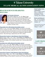 Media New Orleans - Dr Lupo Featured in TMAA News, July 2010