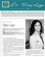 Media New Orleans - Dr. Mary Lupo Press Releases 3