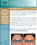 Dr Mary Lupo Lupo Center for Aesthetic and General Dermatology June 2014