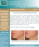 Dr Mary Lupo Lupo Center for Aesthetic and General Dermatology March 2014