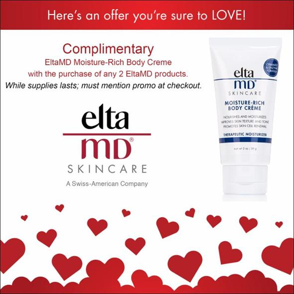 Dr Lupo Complimentary EltaMD Moisturizer with Purchase