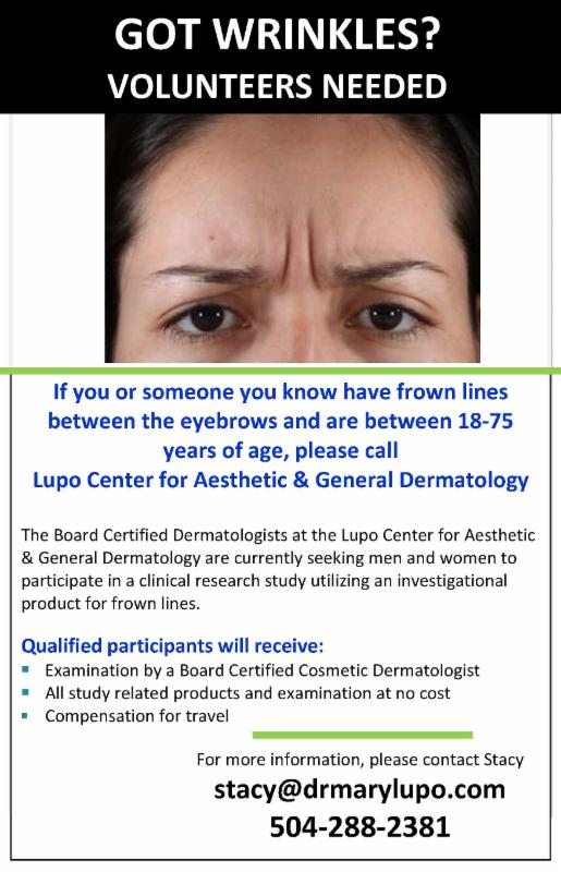 Dr lupo Reduce Your Wrinkles Offer