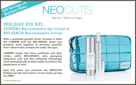 Dermatology Promotions New Orleans - Holiday Eye Kit